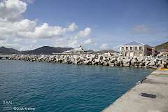 The Bastions on the port of Sint Maarten, seen from pier 1